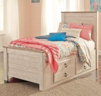 Signature Design by Ashley Willowton Twin Bed with ...