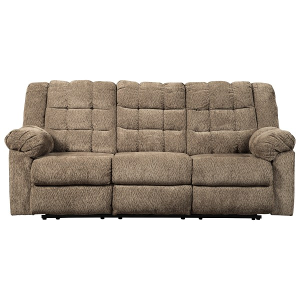 Signature Design Ashley Workhorse Casual Reclining Sofa