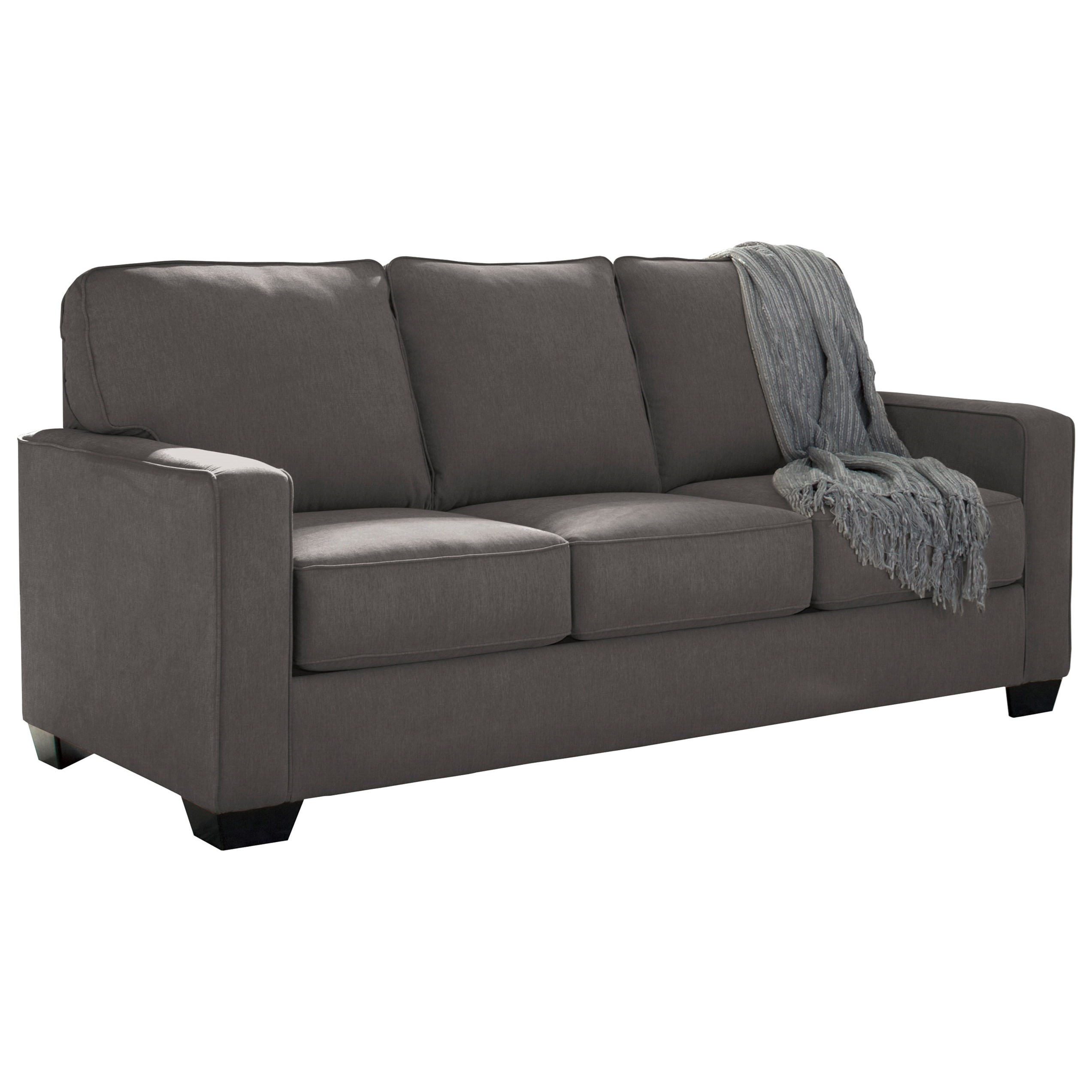 foam sofa sleeper bed 72 inches signature design by ashley zeb full with memory