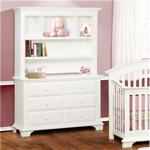 simmons kids santiago 6 drawer dresser