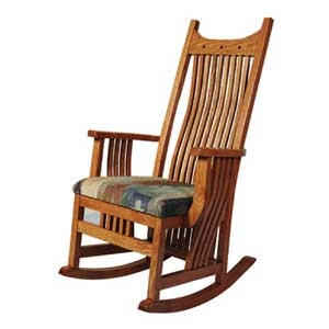 amish made rocking chair cushions childrens chairs with arms becker furniture world rocker w cushin