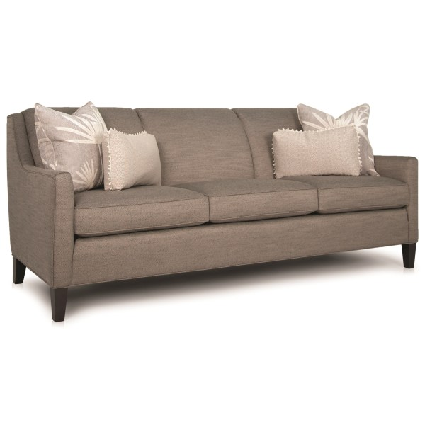 Smith Brothers 248 Contemporary Sofa With Track Arms