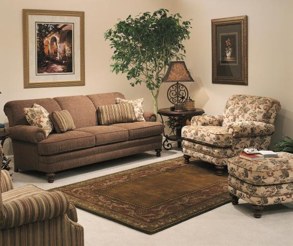 Smith Brothers 346 346-30 40 Traditional Styled Chair And