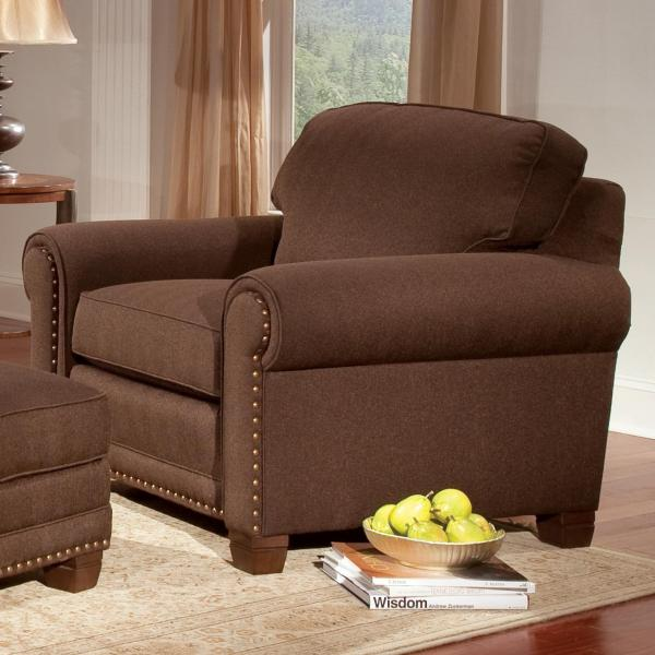 Smith Brothers 393 393-30 Traditional Stationary Chair