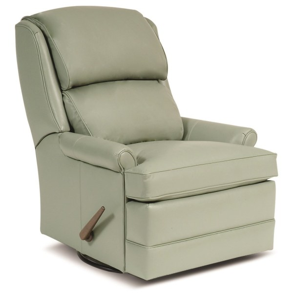 Smith Brothers 707 3 Position Recliner With Handle