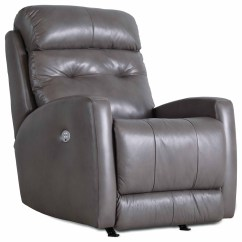 Rocker And Recliner Chair Portable With Canopy Southern Motion Bank Shot 5157 Power Headrest
