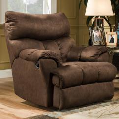 Swivel Reclining Chairs For Living Room Show Me Decorate My Southern Motion Dreamer Casual Styled Rocker Recliner Soft