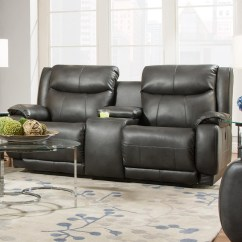 Southern Motion Velocity Reclining Sofa Best Budget Bed Uk 875-28 Double Console ...