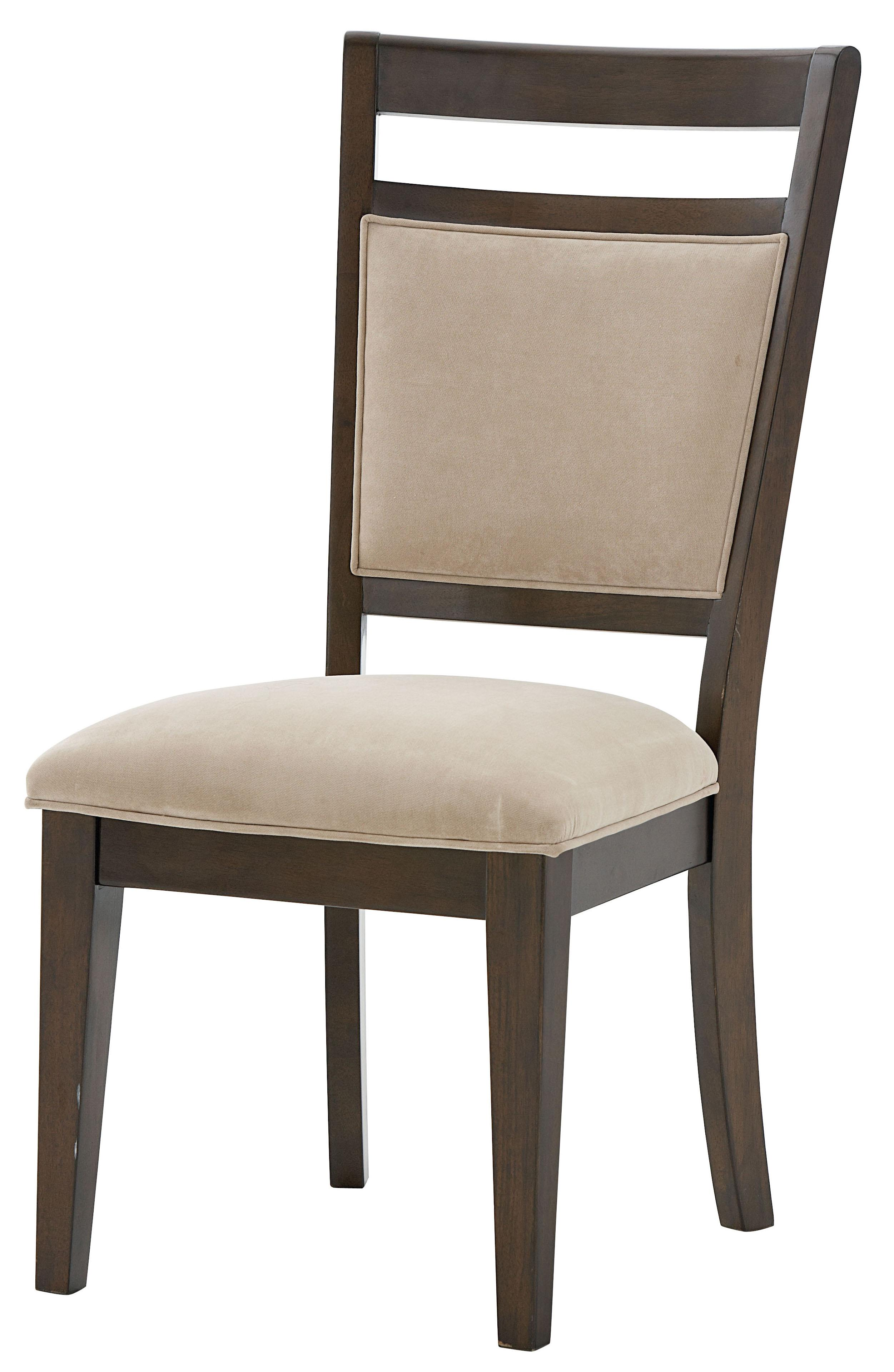 Standard Furniture Avion Side Chair with Upholstered Seat