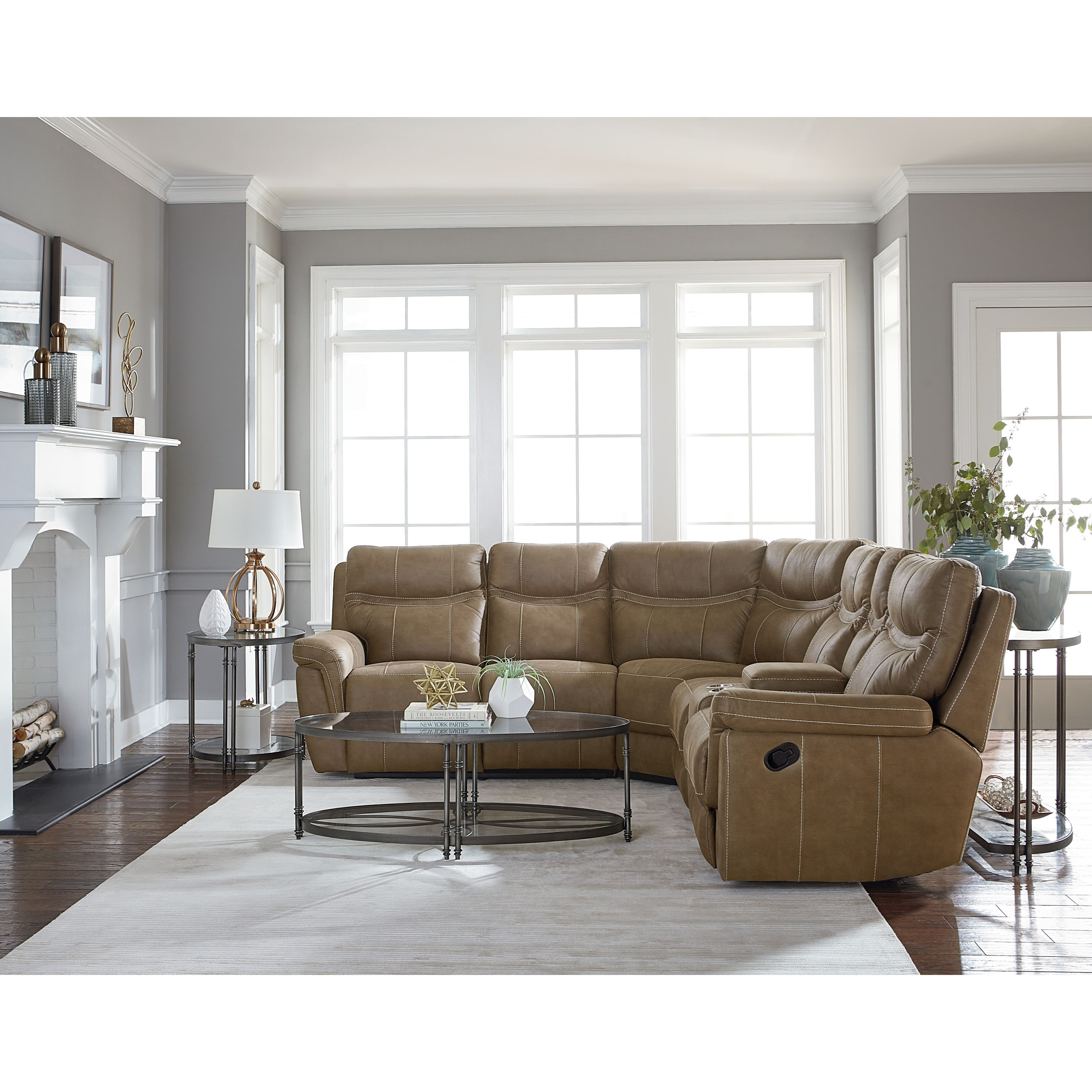 Standard Furniture Boardwalk Contemporary Sectional Sofa