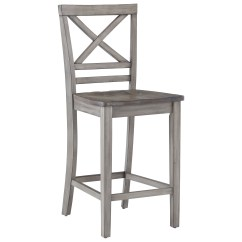 Counter Height Chair Hammock Stand Adjustable Standard Furniture Fairhaven 12874 Rustic Barstool