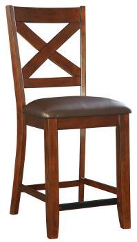 Standard Furniture Omaha Brown 6 Piece Counter Height ...