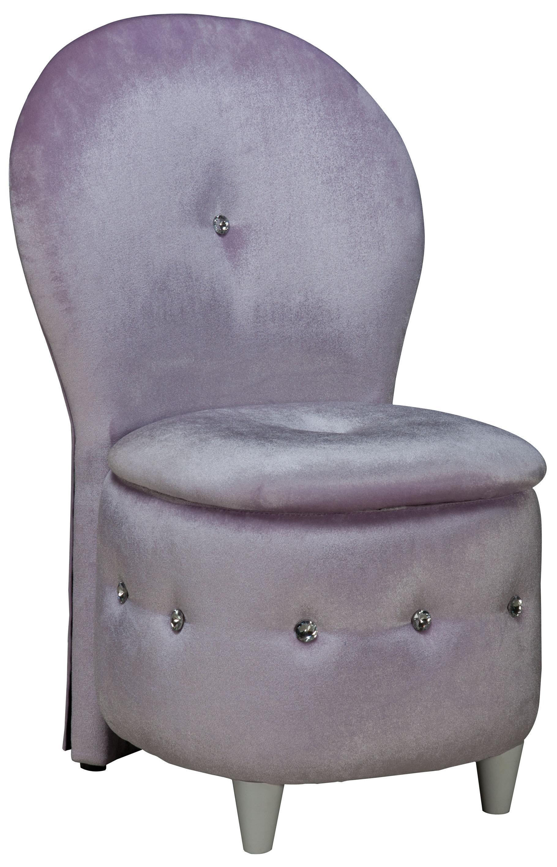 macy stool chair grey posture office standard furniture sit n store lavendar velvet with storage cushion