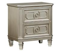 Standard Furniture Windsor Silver Nightstand | Wayside ...