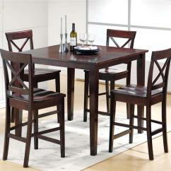 Black Dining Table And Chairs Cool Accent Delivery Estimates Northeast Factory Direct Cleveland Eastlake 5 Piece Pub Chair Set