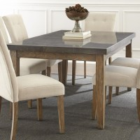 Steve Silver Debby Transitional Rectangular Dining Table ...