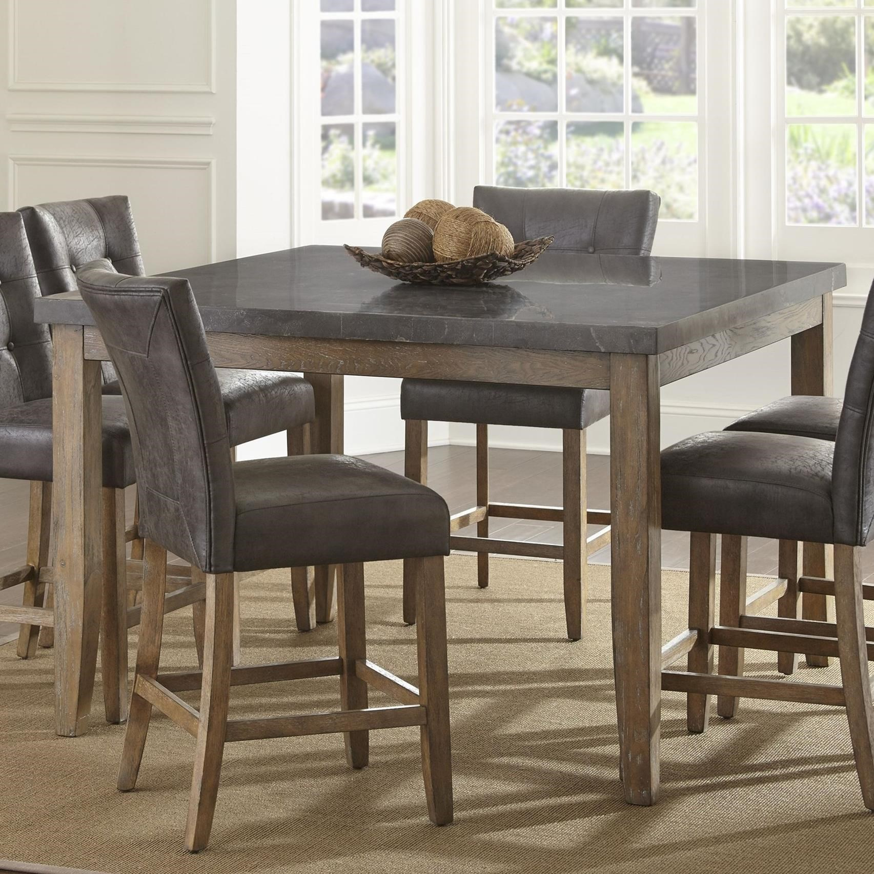 Steve Silver Debby Transitional Square Counter Height