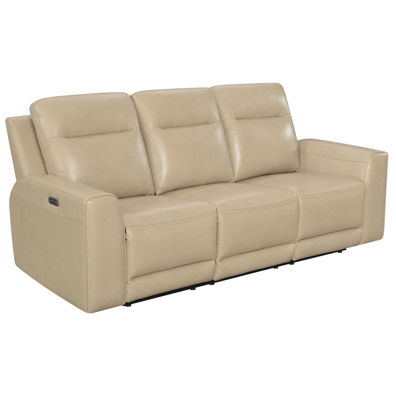doncella dual power recliner sofa