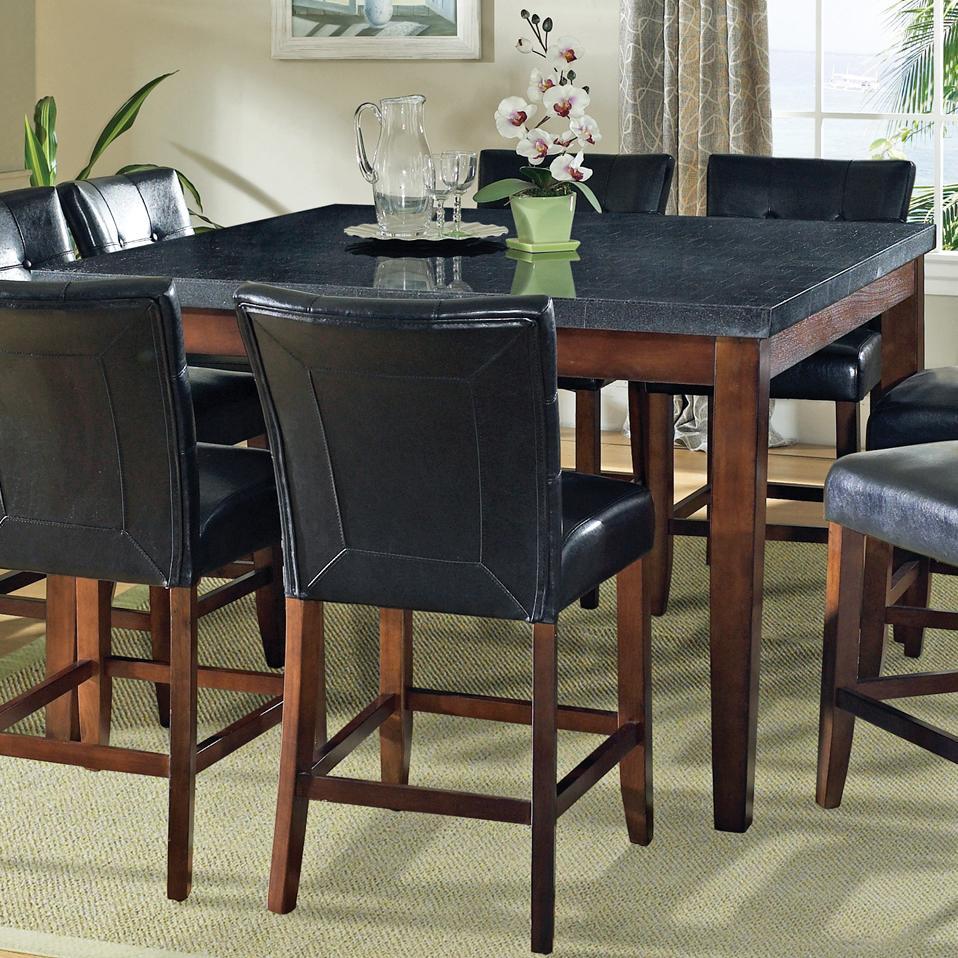 Prime Granite Bello Granite Top Counter Height Leg Table