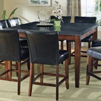 Prime Granite Bello Granite Top Counter Height Leg Table ...