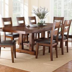 Steve Silver Dining Chairs Abbyson Living Thatcher Fabric Rocking Chair In Beige Zappa 9 Piece Set With Ladderback