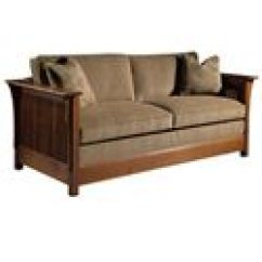 Stickley Fayetteville Sleeper Sofa Ebay Leather Sofas For Sale Oak Mission Classics Twin Size ...