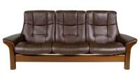 Stressless Buckingham Reclining Sofa   HomeWorld Furniture ...