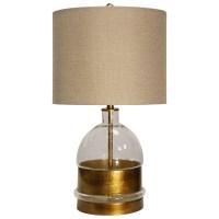 StyleCraft Lamps L25373 Glass Body Table Lamp | Hudson's ...