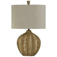 StyleCraft Lamps L310192 Hand Carved Contemporary Table ...