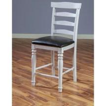 "Sunny Design Bourbon County Ladderback 24"" Barstool With"
