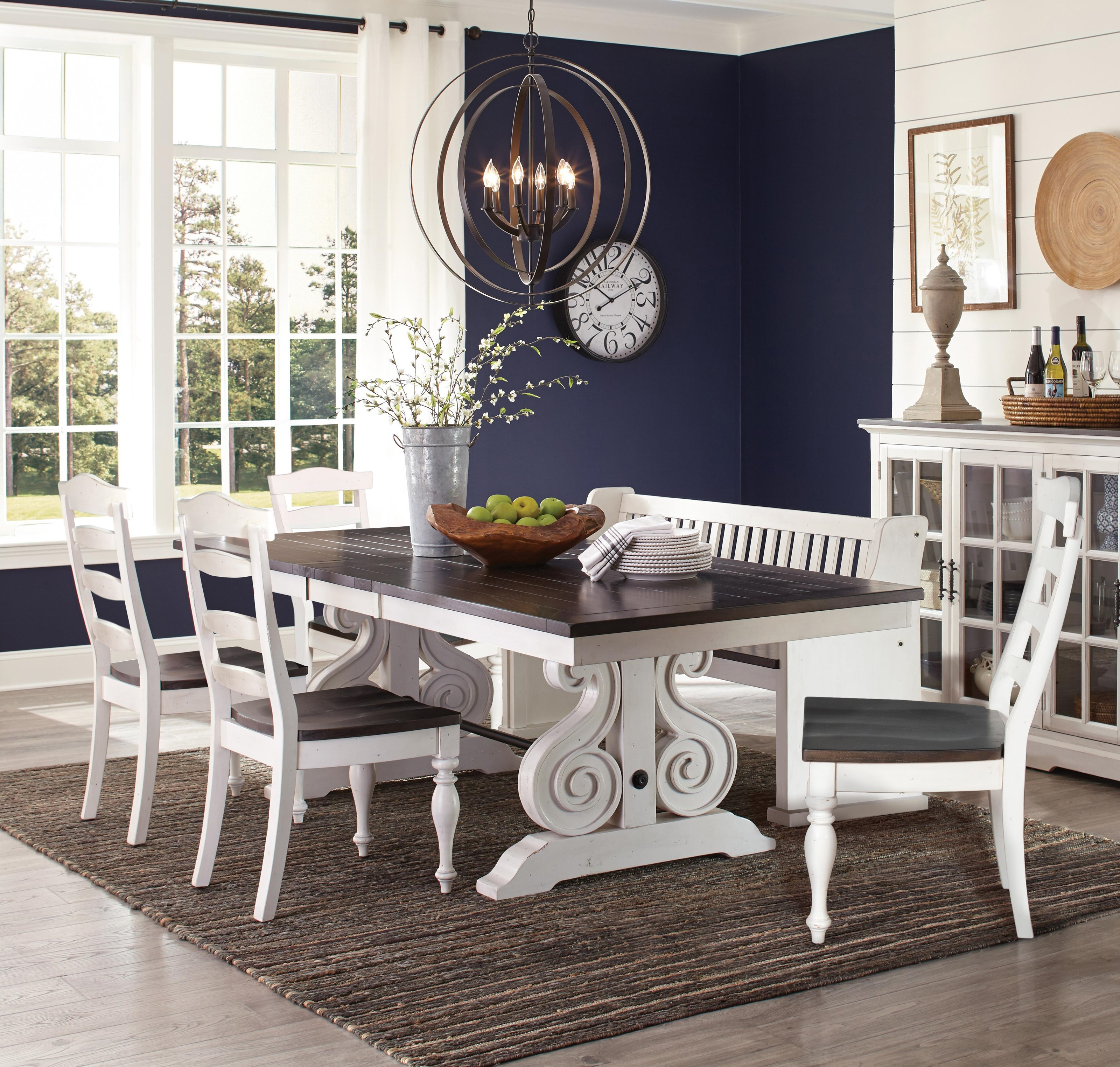 Sunny Designs Carriage House 5 Piece Table And Chair Set Wayside Furniture Dining 5 Piece Sets