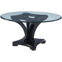 Thomasville Manuscript Contemporary Round Dining Table ...