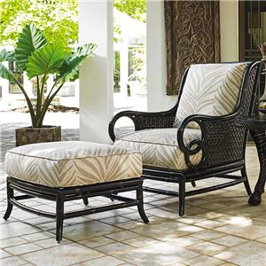 outdoor chair and ottoman 1920s rocking baer s furniture lounge set