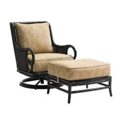 Outdoor Chair And Ottoman Chairs For Rent Baer S Furniture Swivel Rocker Lounge
