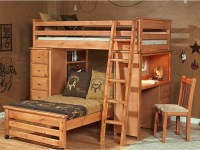Trendwood Laguna Loft Style Bunk Bed with Chest and Desk ...