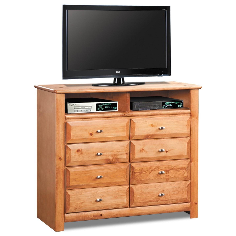 media chest for living room interior design ideas small rooms india trendwood laguna 8 drawer homeworld furniture