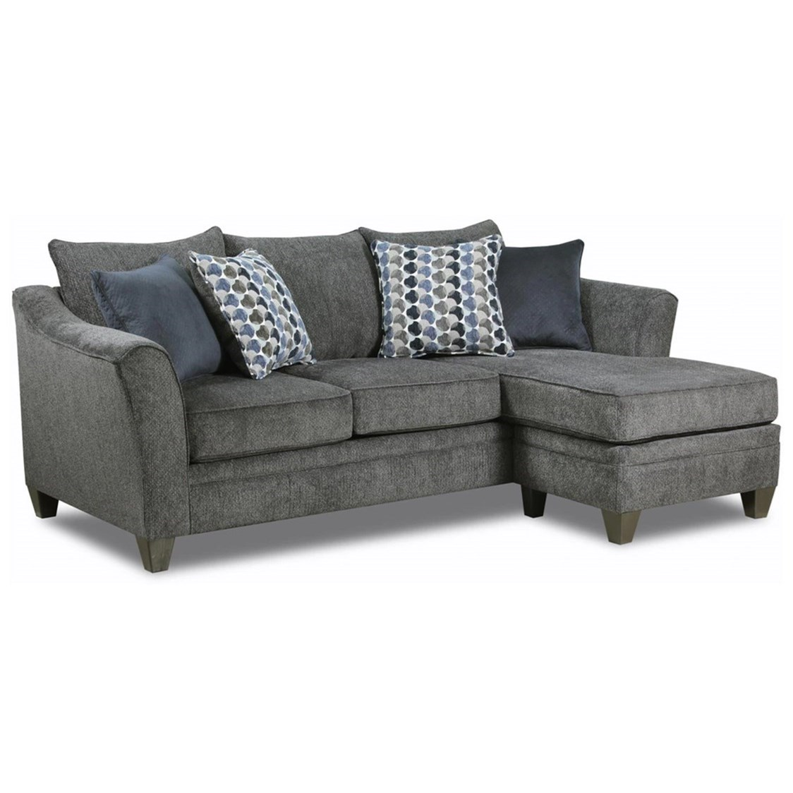 Simmons Upholstery Sectional