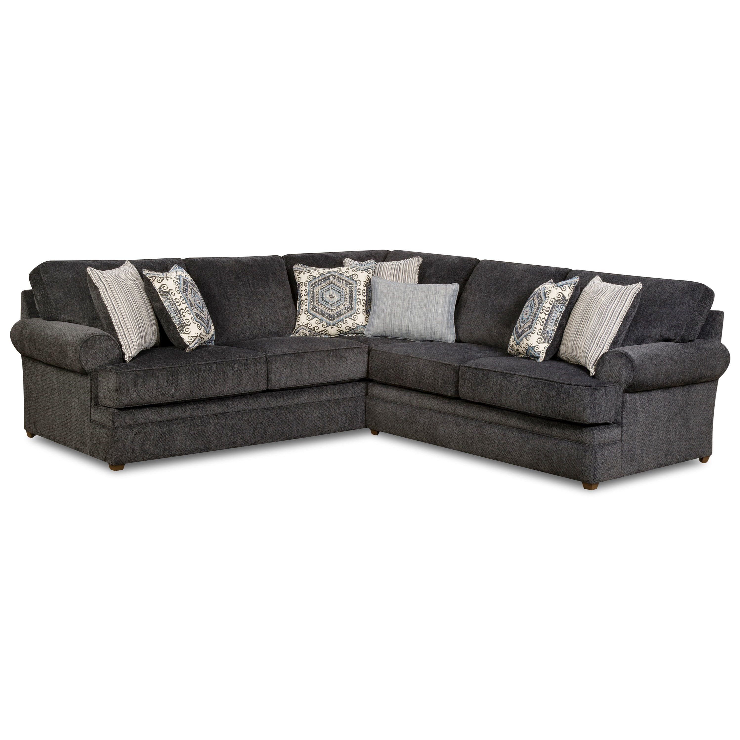 8530 br transitional sectional sofa