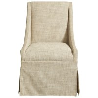 Universal Modern Townsend Castered Upholstered Dining ...