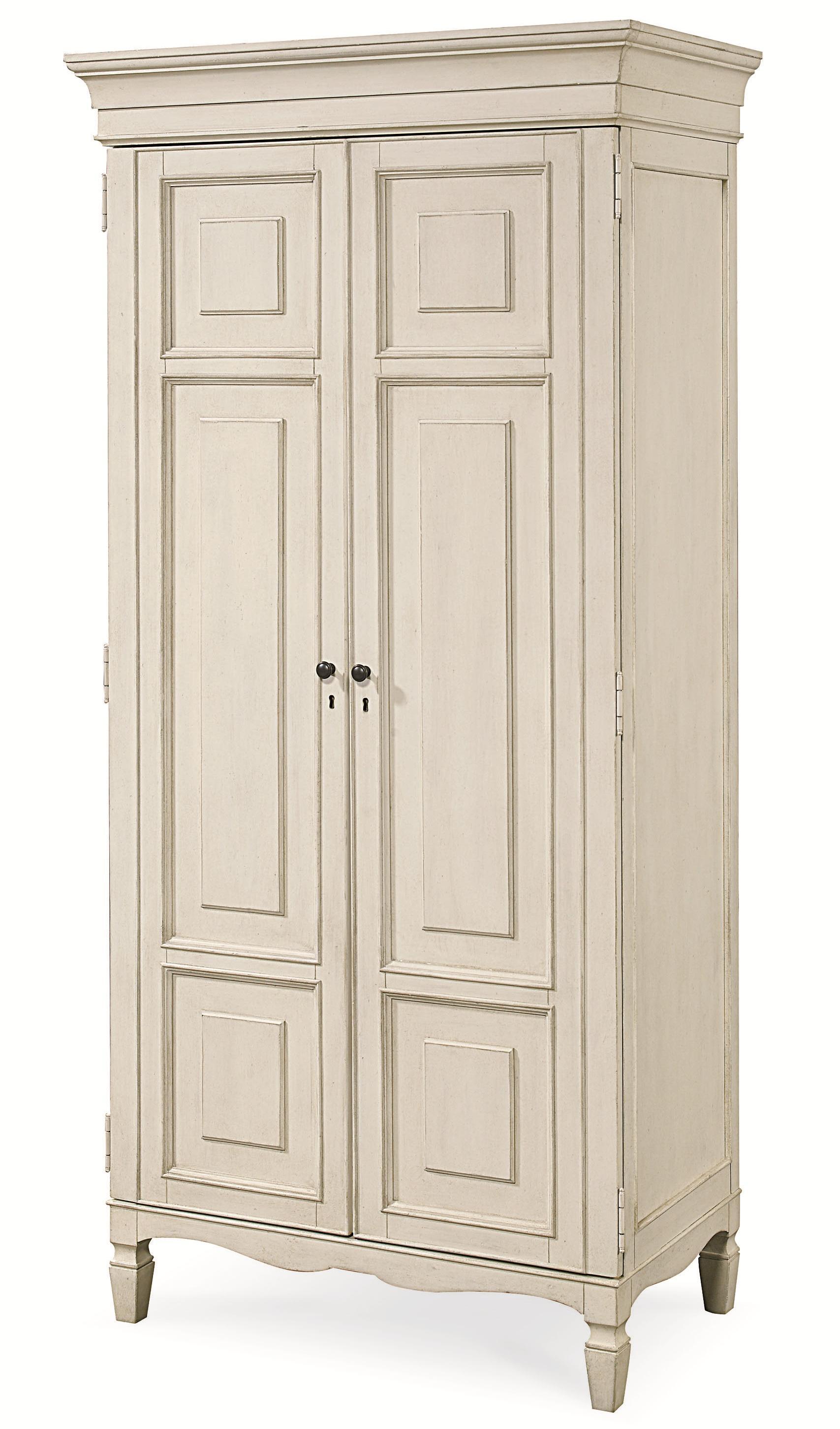 Universal Summer Hill 2 Door Tall Cabinet  HomeWorld