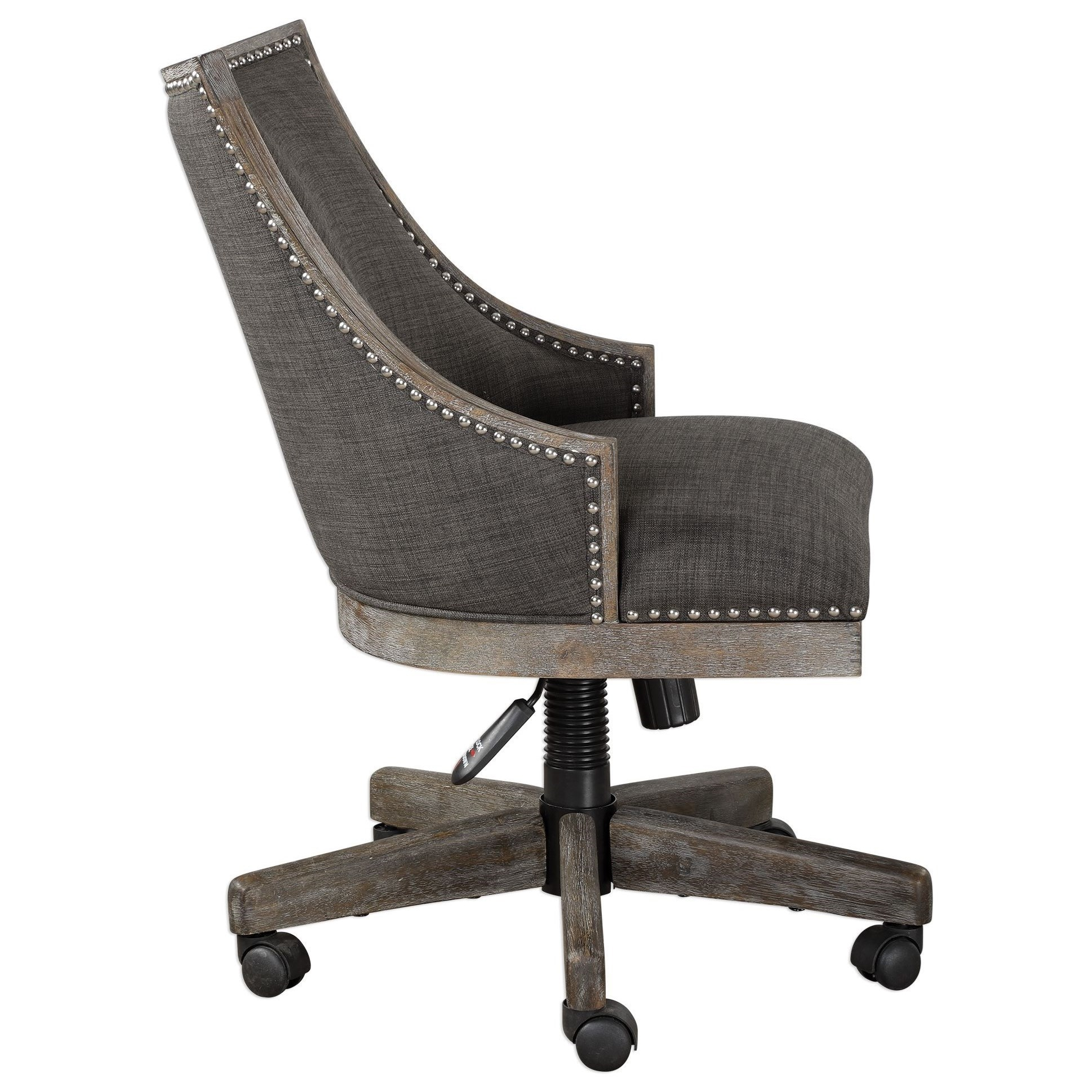 Uttermost Accent Furniture 23431 Aidrian Charcoal Desk