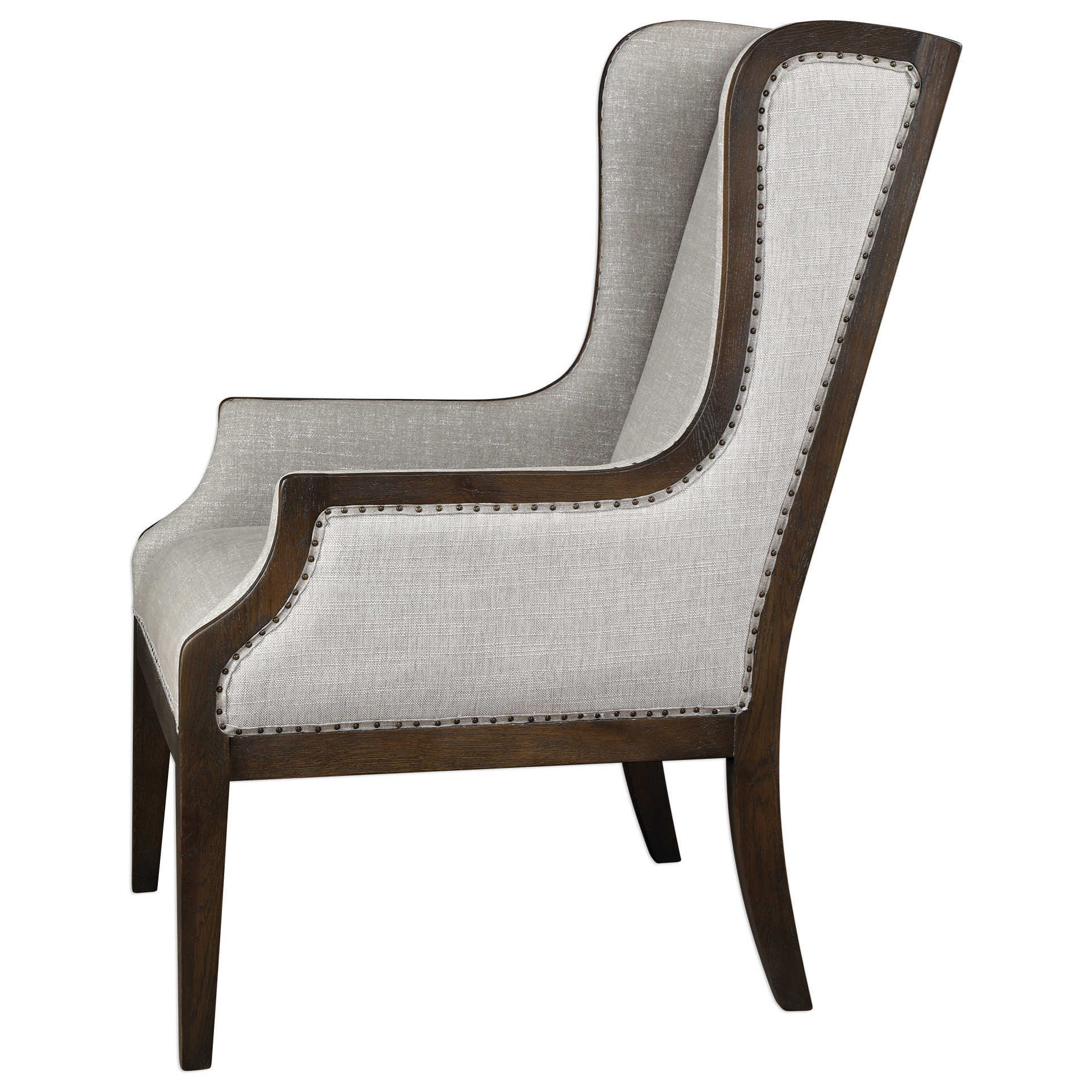 Uttermost Accent Furniture  Accent Chairs Florent Wing