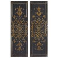 Alternative Wall Decor Melani Decorative Panels S/2 ...