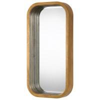 Mirrors Senio Metallic Gold Wall Mirror | Becker Furniture ...