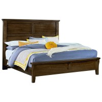 Vaughan Bassett American Cherry King Mansion Bed with ...