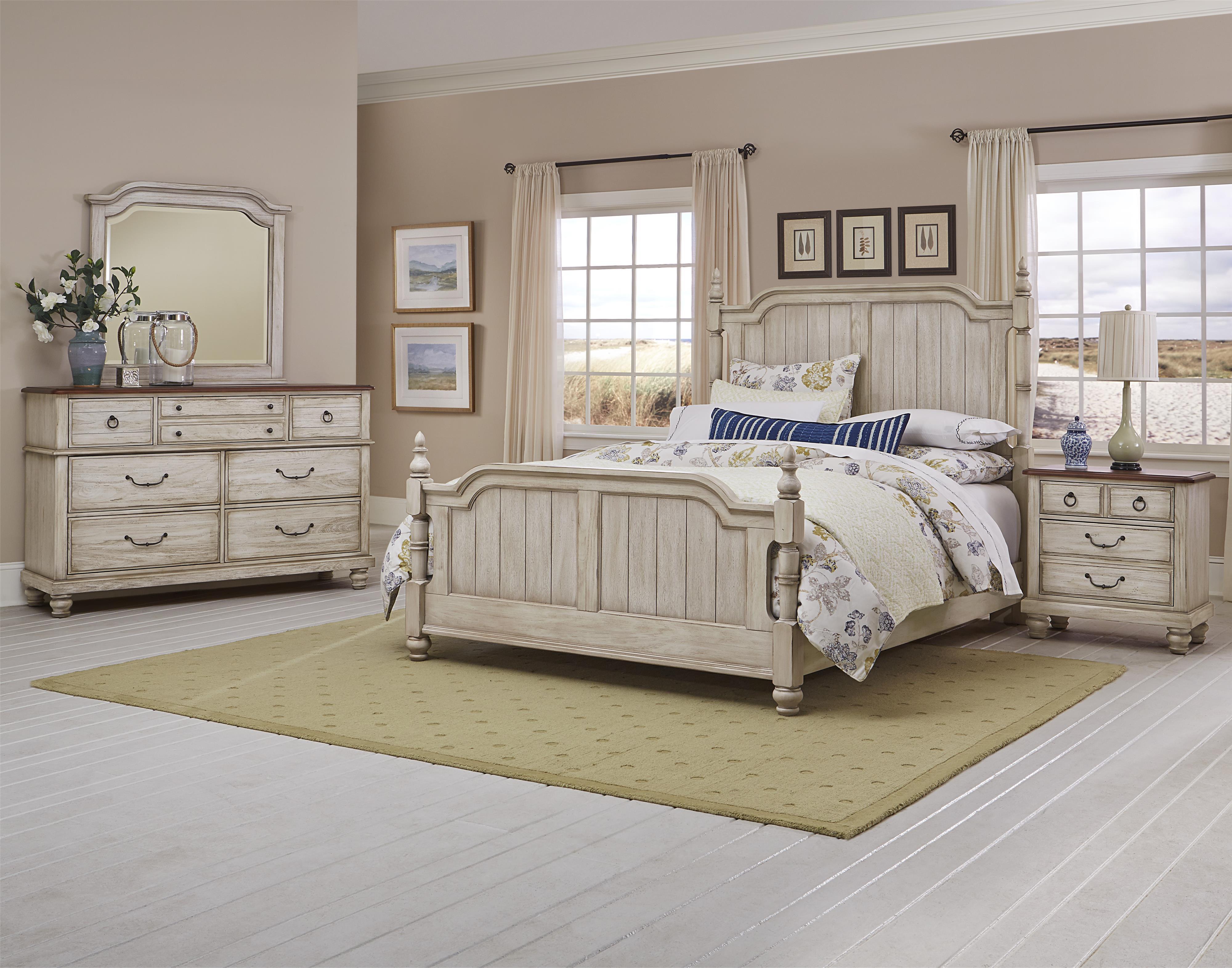 Vaughan Bassett Arrendelle King Bedroom Group  Dunk
