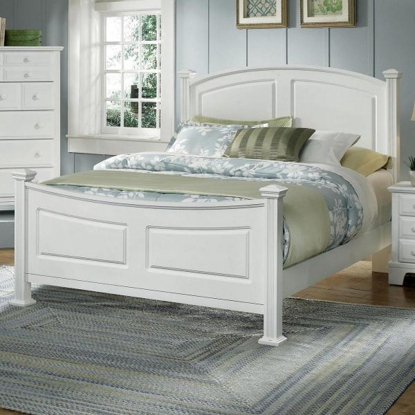 Vaughan Bassett Hamilton Franklin Full Panel Bed Belfort