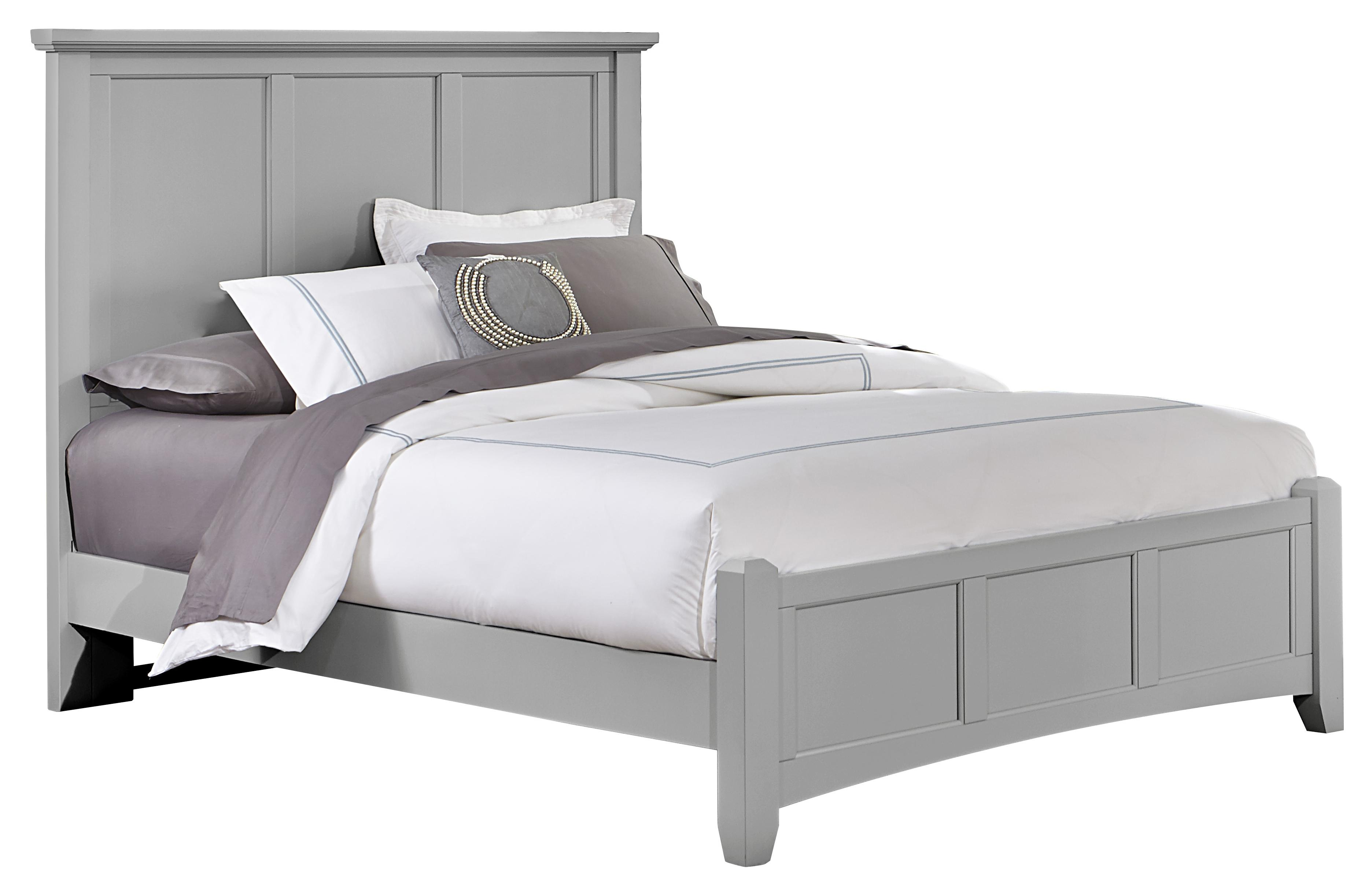Vaughan Bassett Bonanza Queen Mansion Bed with Low Profile