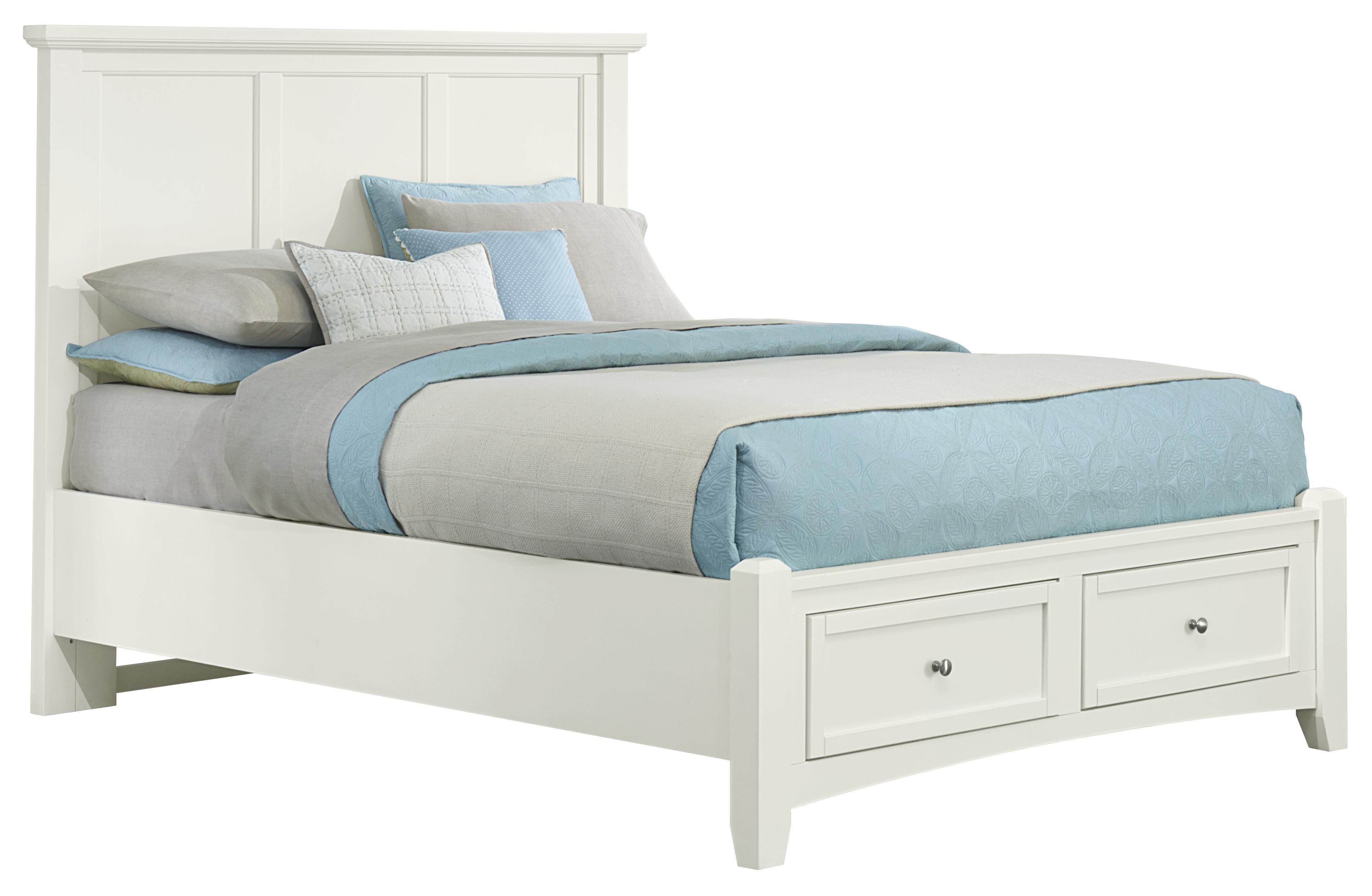 Vaughan Bassett Bonanza King Mansion Storage Bed With 2