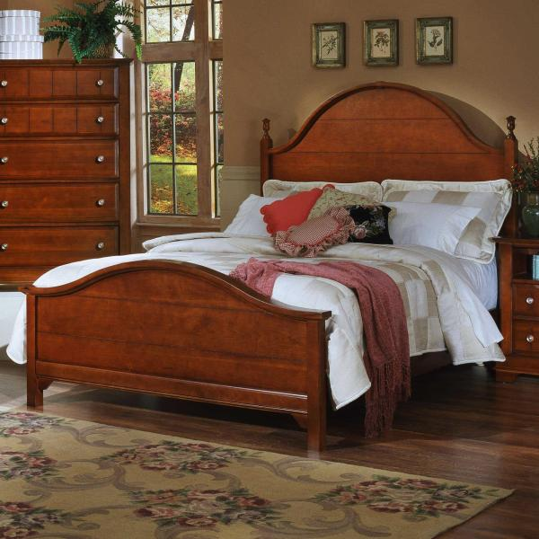 Vaughan Bassett Cottage Queen Panel Bed Belfort